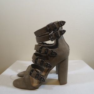 Mossimo Delilah taupe shoe nwb size 7 1/2